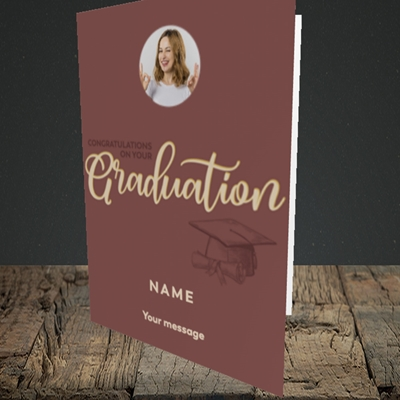 Picture of Your Graduation, Graduation Design, Portrait Greetings Card