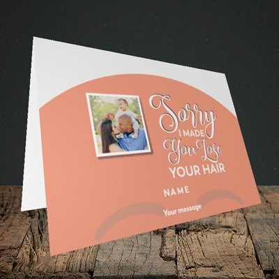 Picture of Made You Lose Hair, Father's Day Design, Landscape Greetings Card