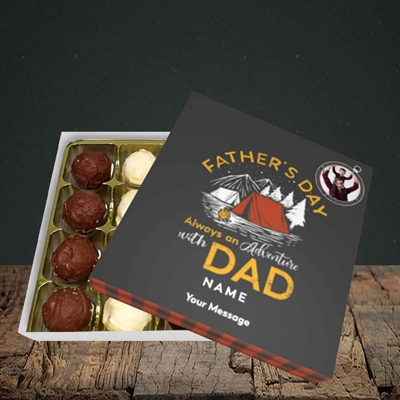 Picture of Adventure With Dad, Father's Day Design, Choc 16