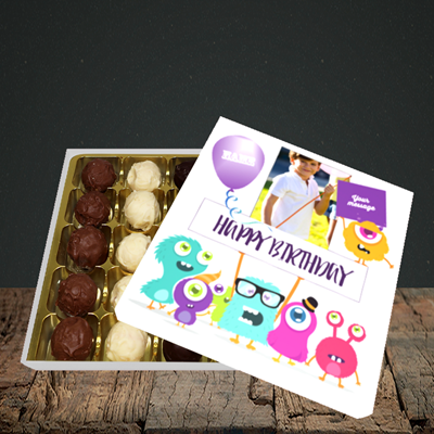 Picture of Monster, Birthday Design, Choc 25