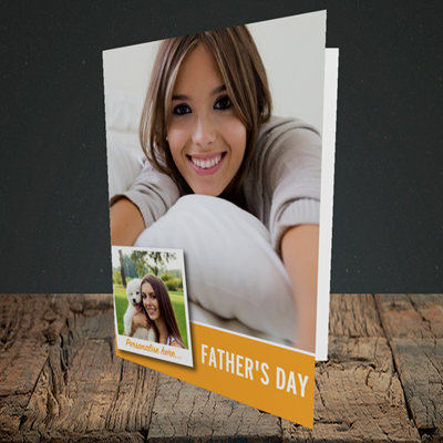 Picture of Photo, Father's Day Design, Portrait Greetings Card