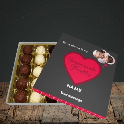 Picture of Inappropriate Thoughts, Valentine's Design, Choc 25