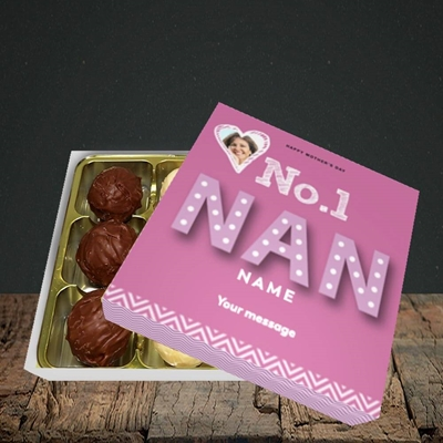 Picture of No. 1 Nan, Mother's Day Design, Choc 9