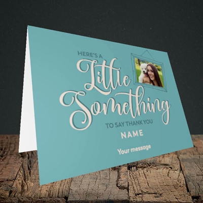 Picture of A Little Something, Thank You Design, Landscape Greetings Card