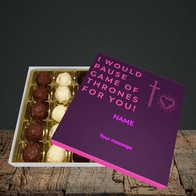 Picture of Game Of Thrones, (Without Photo) Valentine Design, Choc 25