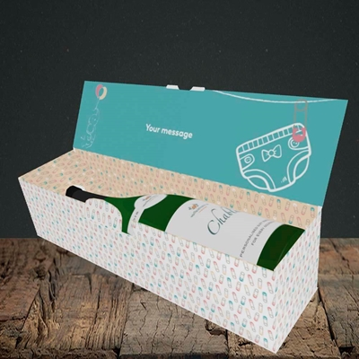Picture of Wiping My Bum(Without Photo), Mother's Day Design, Lay-down Bottle Box