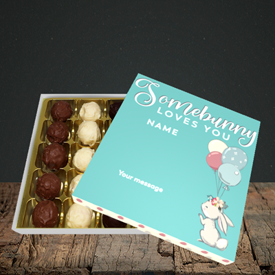 Picture of Somebunny Loves You, (Without Photo) Easter Design, Choc 25