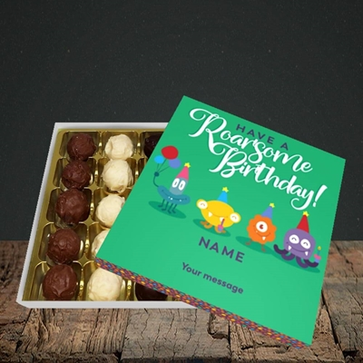 Picture of Roarsome(Without Photo), Birthday Design, Choc 25