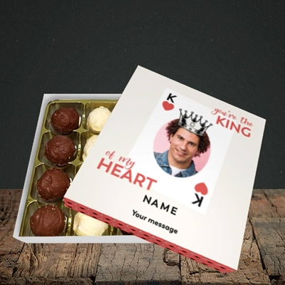 Picture of King Of My Heart, Valentine's Design, Choc 16