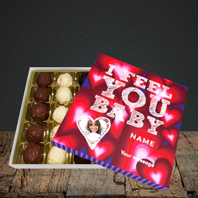 Picture of I Feel You Baby, Valentine's Design, Choc 25