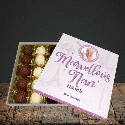 Picture of Marvellous Nan, Mother's Day Design, Choc 25