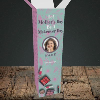 Picture of Makeover Day, Mother's Day Design, Upright Bottle Box