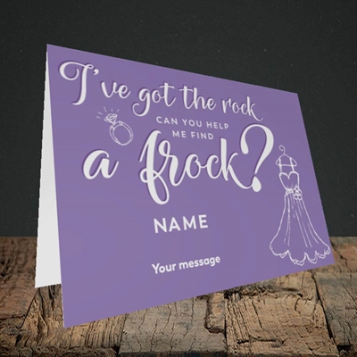Picture of Got The Rock(Without Photo), Wedding Design, Landscape Greetings Card