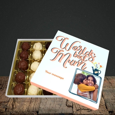Picture of Worlds Best Mum, Mother's Day Design, Choc 25