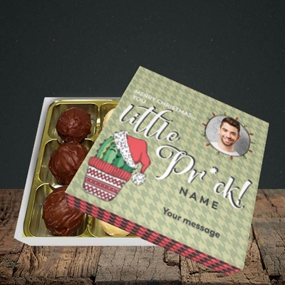 Picture of Christmas Pr*ck, Christmas Design, Choc 9