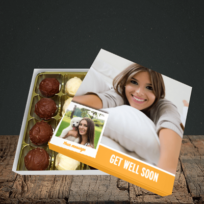 Picture of Photo, Get Well Soon Design, Choc 16