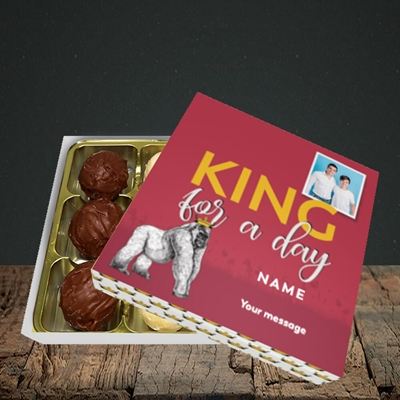 Picture of King For A Day, Father's Day Design, Choc 9