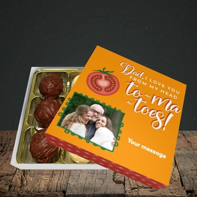 Picture of Tomatoes, Father's Day Design, Choc 9