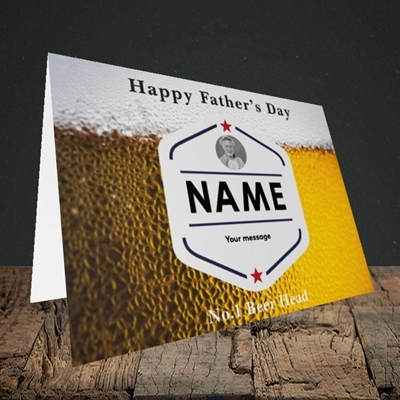 Picture of Premium Father, Father's Day Design, Landscape Greetings Card