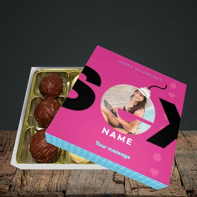 Picture of Sex Bomb - Pink, Valentine Design, Choc 9