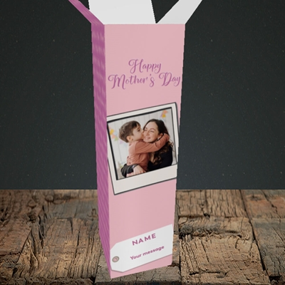 Picture of 2. Polaroid, Mother's Day Design, Upright Bottle Box