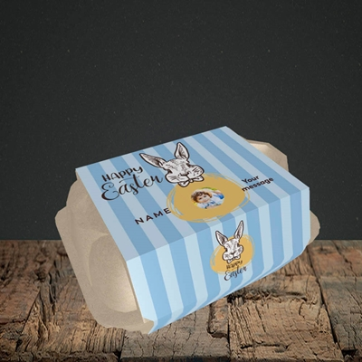 Picture of Bunny Of The Fells, Easter Design, 6 Egg Box