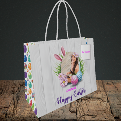 Picture of Grass, Easter Design, Small Landscape Gift Bag