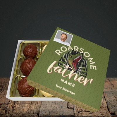 Picture of Roarsome Father, Father's Day Design, Choc 9