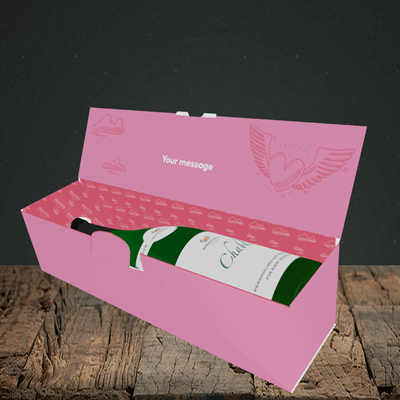 Picture of Sod Valentine's Day, (Without Photo) Valentine's Design, Lay-down Bottle Box