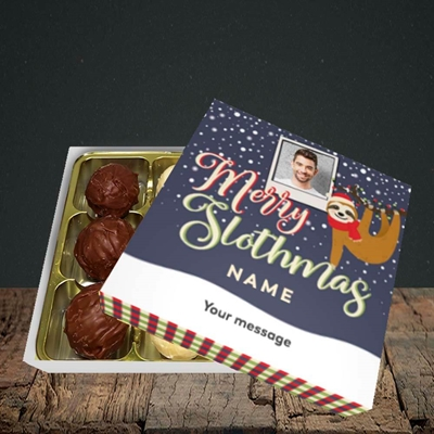 Picture of Merry Slothmas, Christmas Design, Choc 9