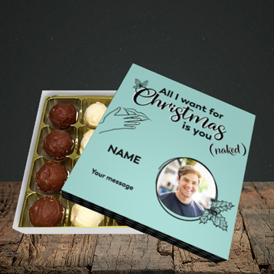 Picture of Naked Christmas, Christmas Design, Choc 16