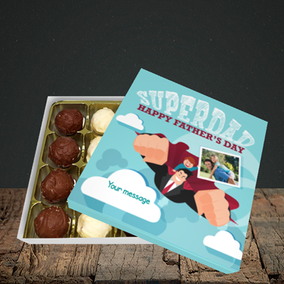 Picture of Superdad, Father's Day Design, Choc 16