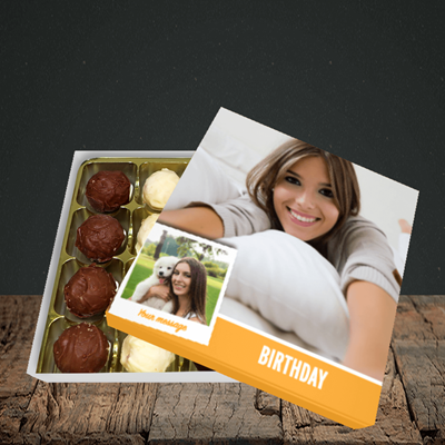 Picture of Photo, Birthday Design, Choc 16