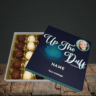 Picture of Up The Duff, Pregnancy Design, Choc 25