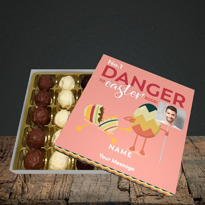 Picture of No.1 Danger, Easter Design, Choc 25