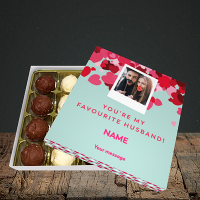 Picture of Favourite Husband, Valentine Design, Choc 16