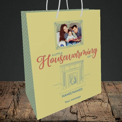 Picture of Housewarming, New Home Design, Medium Portrait Gift Bag