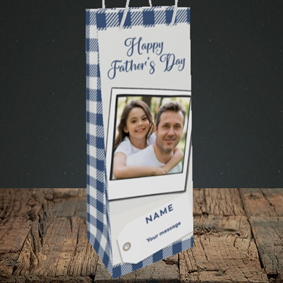 Picture of 2. Polaroid, Father's Day Design, Bottle Bag