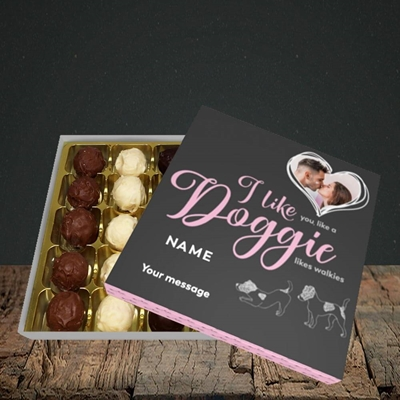 Picture of I Like Doggie, Valentine's Design, Choc 25