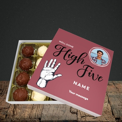 Picture of Well Done High Five, Celebration Design, Choc 16