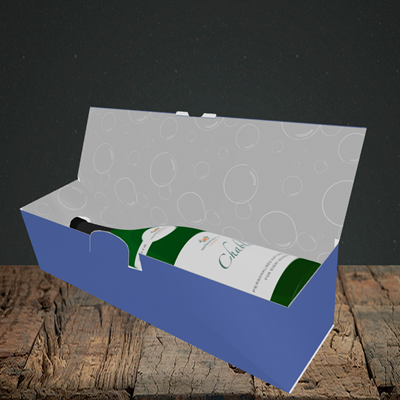 Picture of Blah, (Without Photo) Birthday Design, Lay-down Bottle Box