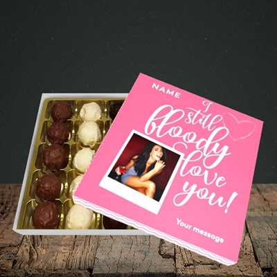 Picture of I Still Bloody Love You, Anniversary Design, Choc 25