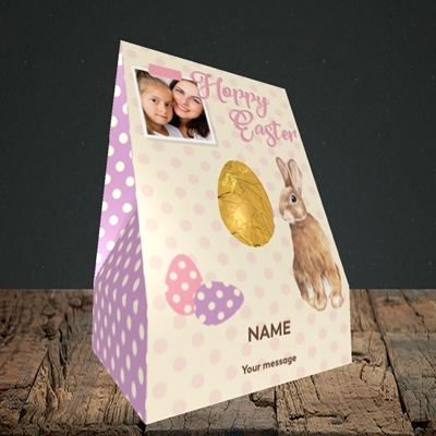 Picture of Spotty Hoppy Easter, Easter Design, Large Egg