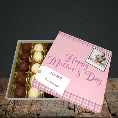 Picture of 2. Polaroid(Chequer), Mother's Day Design, Choc 25