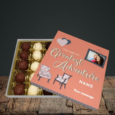 Picture of Greatest Adventure, Valentine's Design, Choc 25