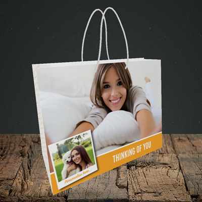 Picture of Photo, Thinking Of You Design, Small Landscape Gift Bag