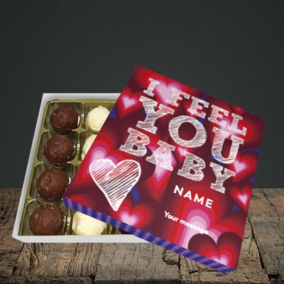 Picture of I Feel You Baby(Without Photo), Valentine's Design, Choc 16