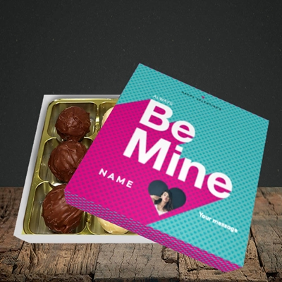 Picture of Always be Mine (type), Valentine Design, Choc 9