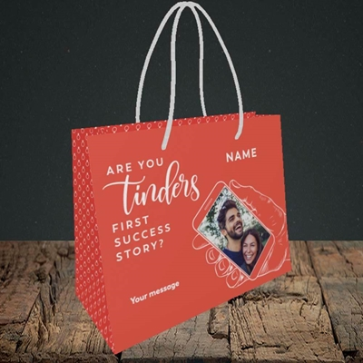 Picture of Tinder, Wedding Design, Small Landscape Gift Bag