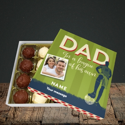 Picture of League Of His Own, Father's Day Design, Choc 16
